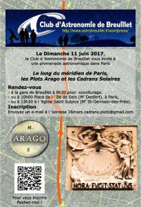 Sur les plots Arago