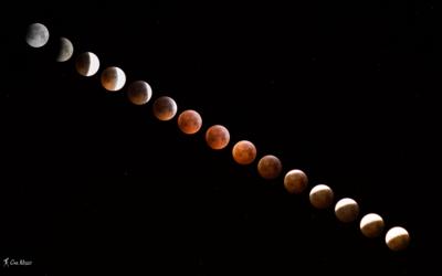 Eclipse de Lune du 21 janvier